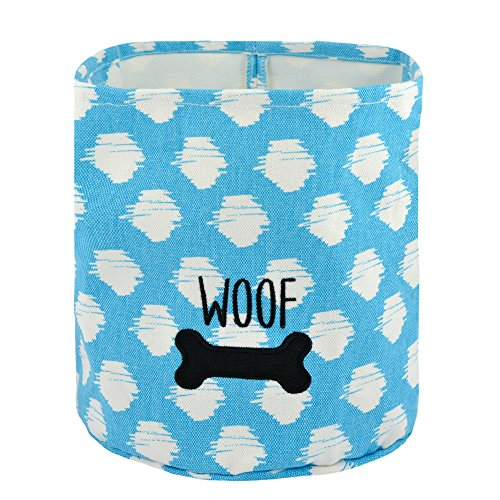 Territory Puppy Love Gift Set with Fleece Blanket Bone Toy and Canvas Storage Bin by Territory (Image #2)