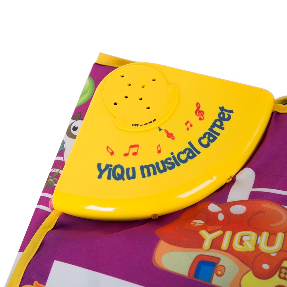COLORTREE Educational Piano Play Mat Fun Step-to-Play Musical Carpet by COLORTREE (Image #3)