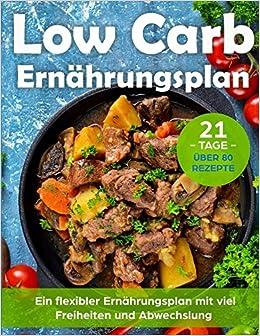 Low Carb Ernährungsplan: Schnell abnehmen in 21 Tagen mit einem ...