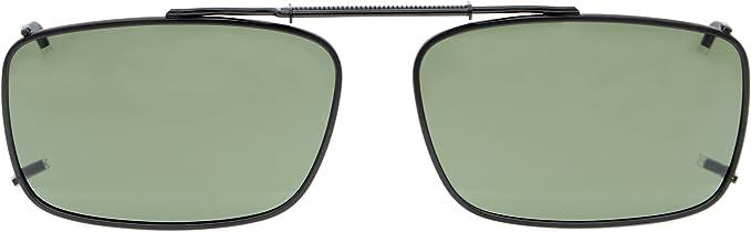 Eyekepper Metal Frame Rim Lente Polarized Clip On Occhiali da sole G15 Lens