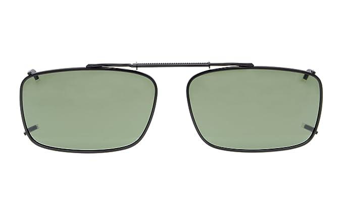 Eyekepper Metal Frame Rim Polarized Lens Clip En Gafas De Sol 54*34MM