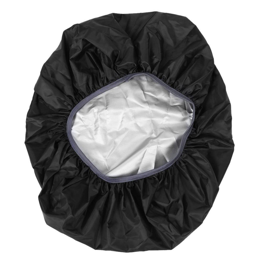 TOOGOO(R) New Waterproof Travel Hiking Accessory Backpack Camping Dust Rain Cover 35L,Black