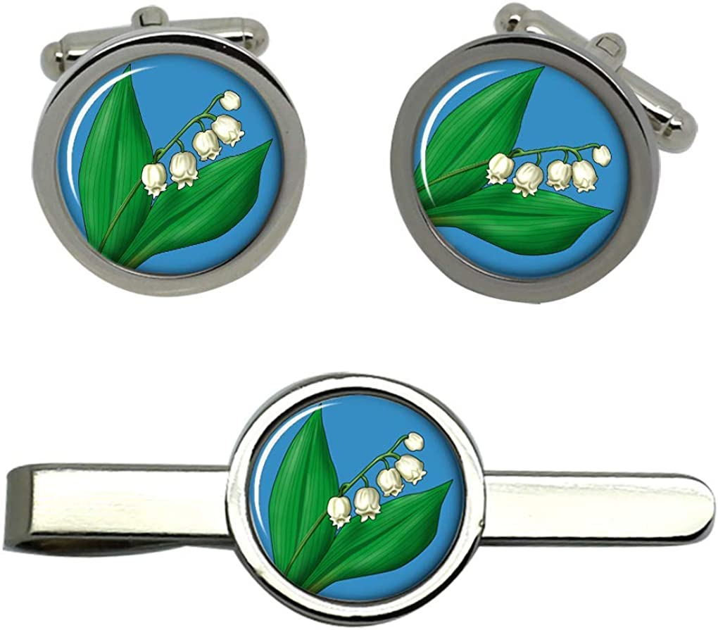 Family Crests Lily of The Valley Gemelos y Corbata Conjunto de ...