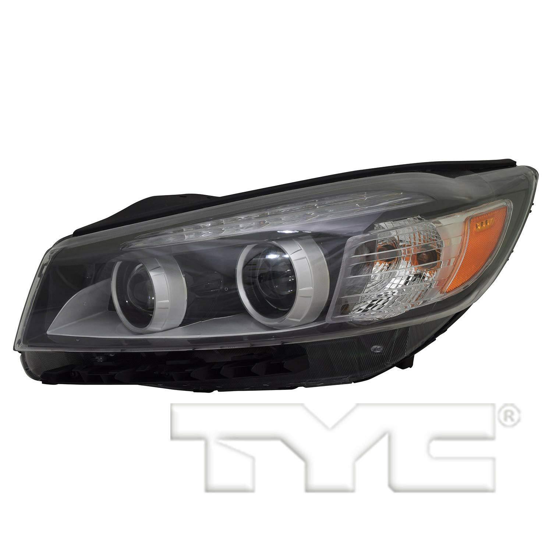 TYC 20-9672-90-1 Replacement Left Head Lamp for KIA Sorento