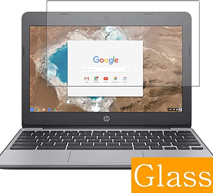 """Synvy Tempered Glass Screen Protector for HP Chromebook 11-v000 si / v031nr / v001na / v010nr / v020wm / v051sa / v025wm / v010wm / v032nr 11.6"""" Visible Area Film Protectors"""