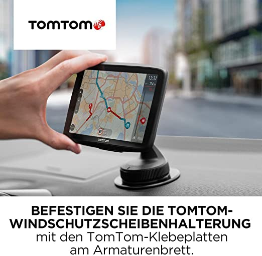 Tomtom Klebe Befestigungsplatten Fürs Armaturenbrett Für Alle Tomtom Modelle Z B Tomtom Go Start Via Go Basic Go Essential Go Premium Rider Go Professional Go Camper Auto