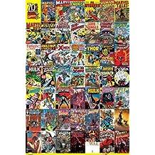 Marvel History X-Men Spider-Man Comic Book Superhero Poster 24 x 36 inches