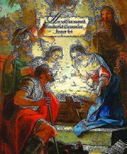 Wonderful Counselor/Christmas Nativity Bulletin, Large (Pkg of 50) pdf