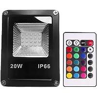 Refletor Holofote LED RGB (Colorido) 20w