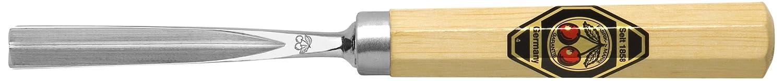Kirschen Kerbschnitzbeitel 6 mm gerade mit V-förmiger Schneide Nr.3239006