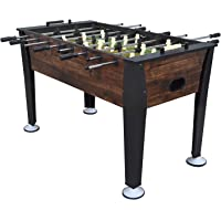 EastPoint Sports Preston Foosball Table Game - 54 inches - Features Hollow Steel Player Rods, Bead Style Scoring, and Includes 2 Foosball Balls