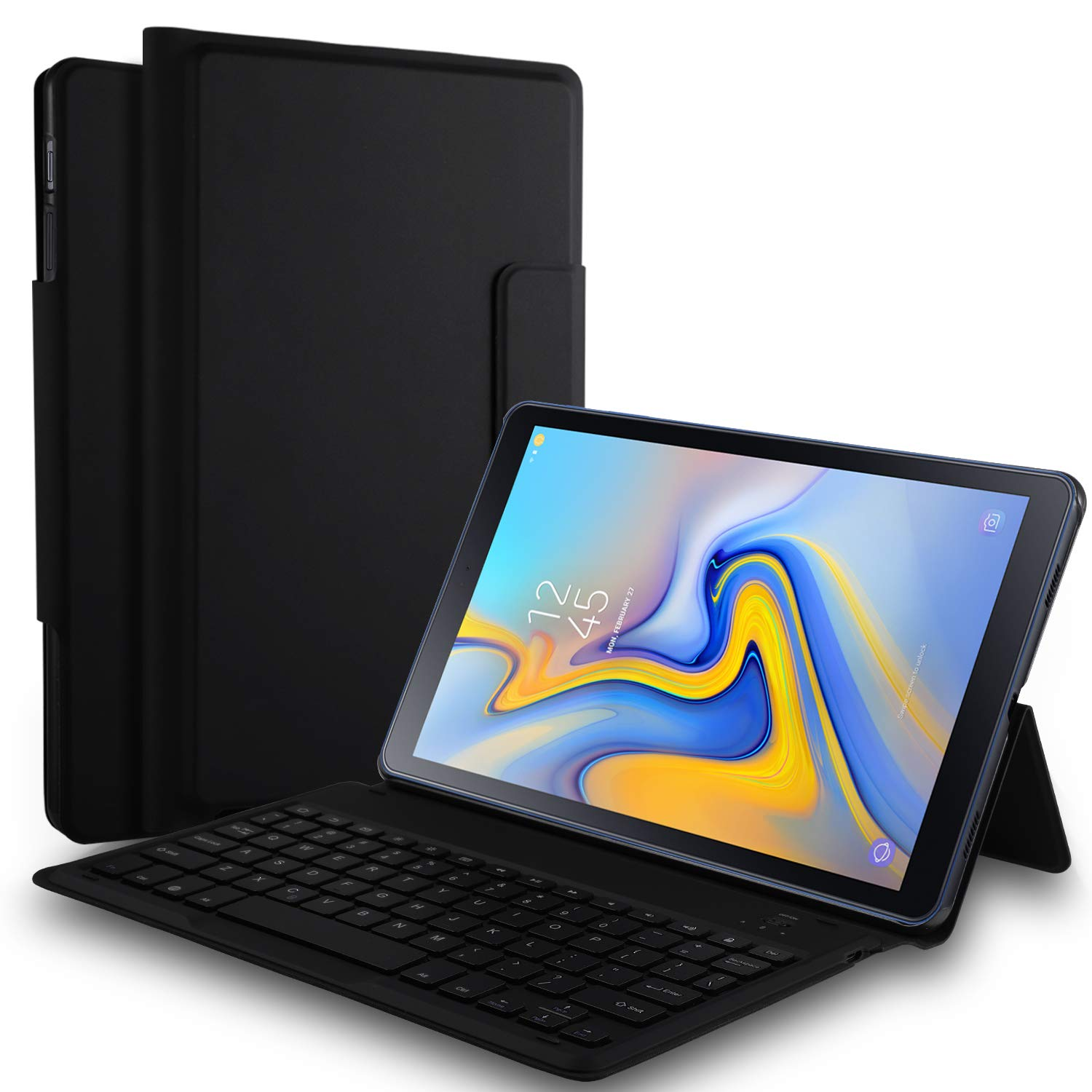 Amazon.com: Luibor Samsung Galaxy Tab A 10.5 Keyboard Case ...