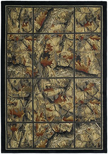 - United Weavers of America Hautman Camouflage Grid 1'11