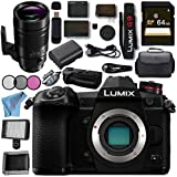Panasonic Lumix DC- G9 DC-G9KBODY Mirrorless Micro Four Thirds Digital Camera Leica DG Elmarit 200mm f/2.8 POWER O.I.S. Lens DMW-BGG9 Battery Grip Bundle