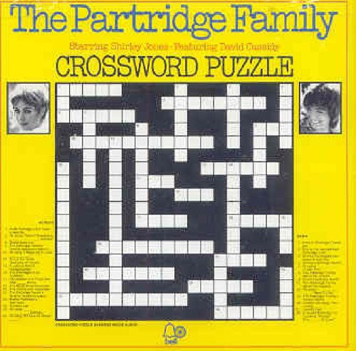 Crossword Puzzle (Shopping Bag Partridge Family)