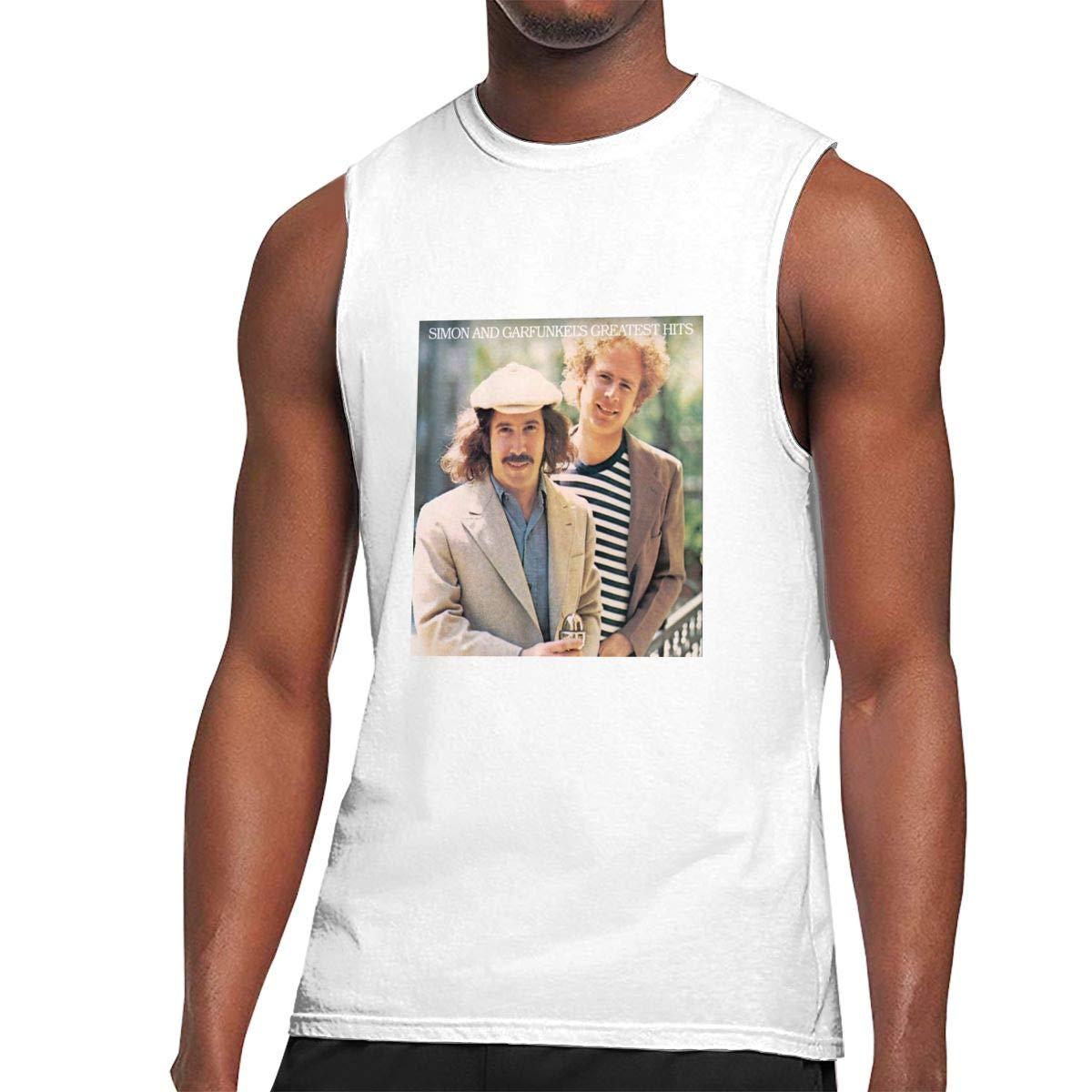 Seuriamin Simon Garfunkel Greatest Hits Fashion Walk Sleeveless Muscle Short Sleeve Ts Shi