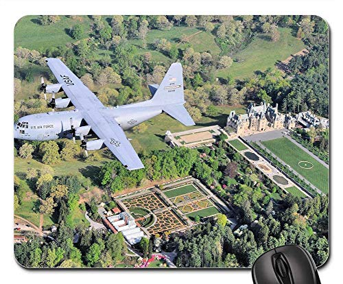 - Mouse Pad - Aircraft Turboprop Military Aviation Flying