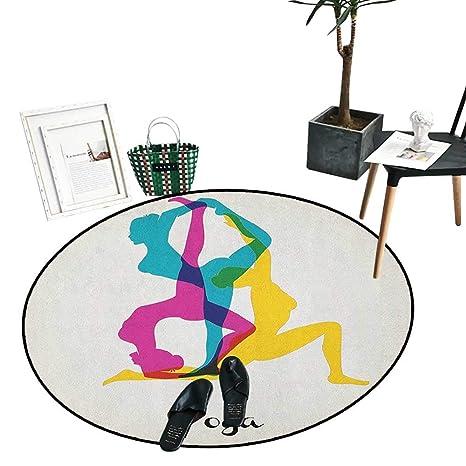 Amazon.com: Alfombra de yoga con dibujos animados para niños ...