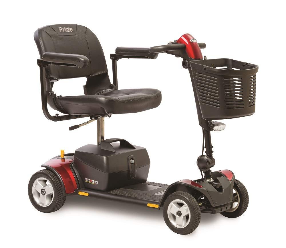Pride Mobility Go-Go Traveler Elite Plus 4-Wheel Scooter