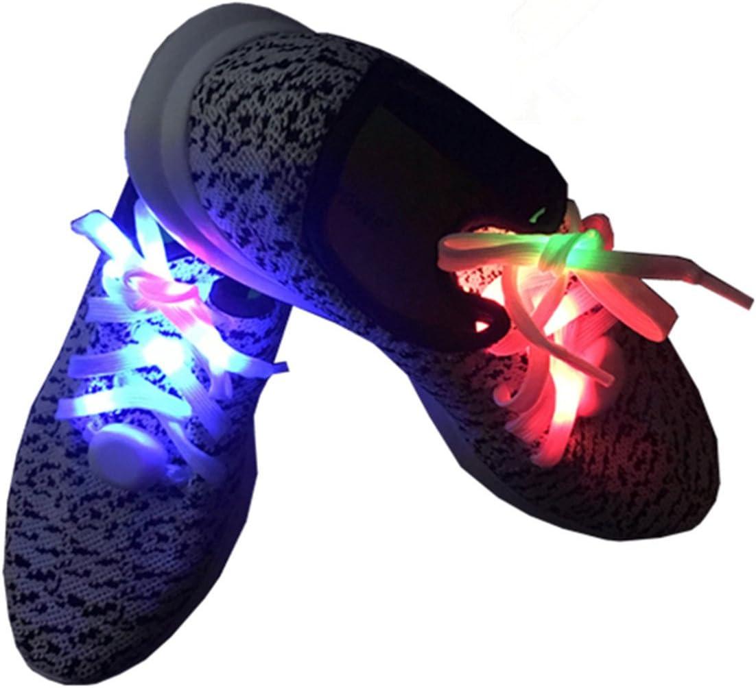 LED Nylon Shoelaces Light Up Shoe Laces