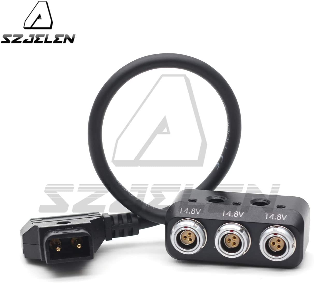 RS to RS + 2PIN SZJELEN RS 3Pin Male to Female 3pin 2pin Connector Camera Power Splitter,Tilta Arii Alexa Red Power Supply Cable