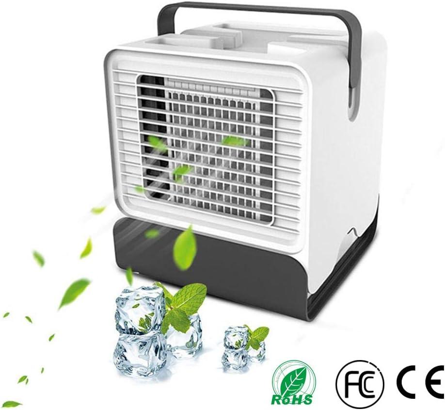Mini Aire Acondicionado Enfriador USB Refrigeracion, 3-en-1 Mini ...
