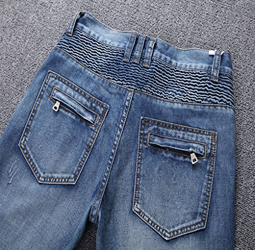 Aiyino Jeans Homme Jeans Bleu Homme Aiyino Aiyino Jeans Homme Bleu Bleu Errwxqg5