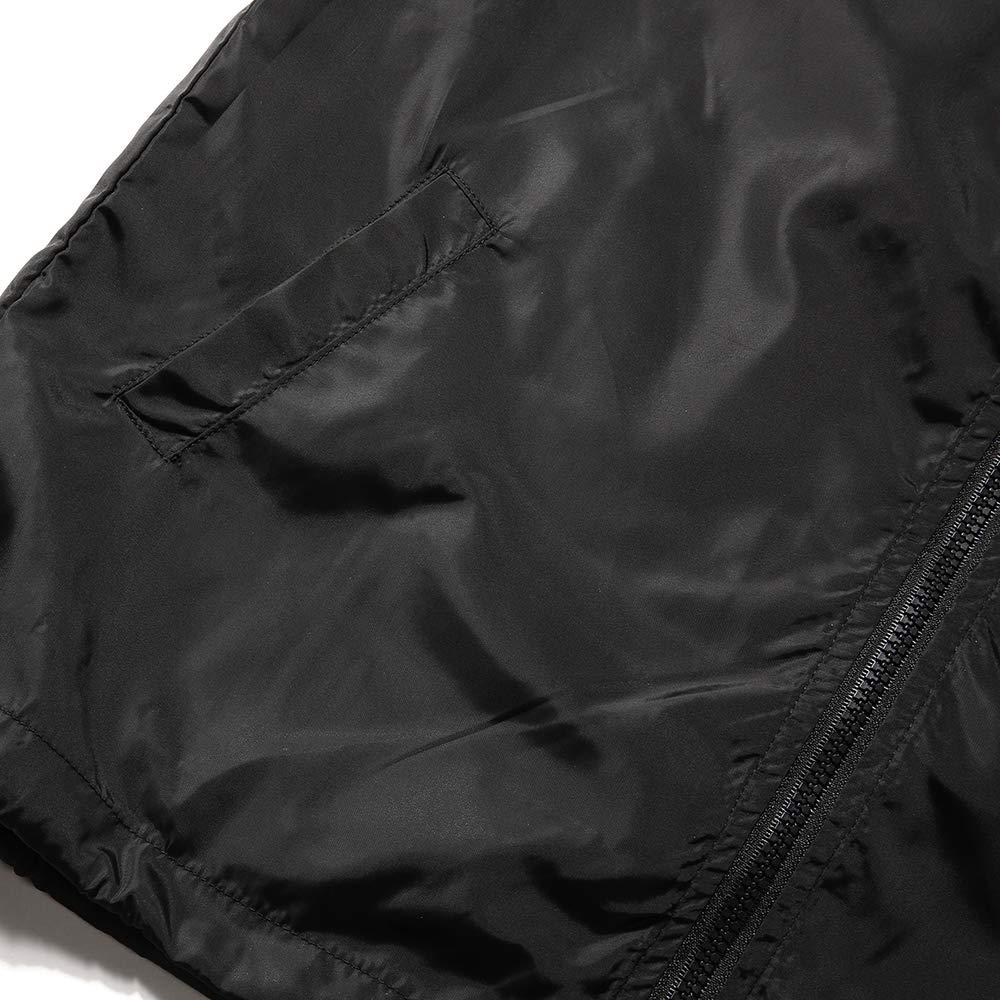 AITFINEISM Mens Lightweight Drawstring Hooded Zip Up Sports Jacket Windproof Windbreaker