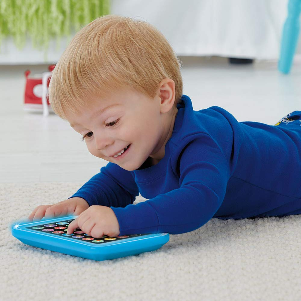 Fisher-Price Laugh & Learn Smart Stages Tablet, Blue by Fisher-Price (Image #3)