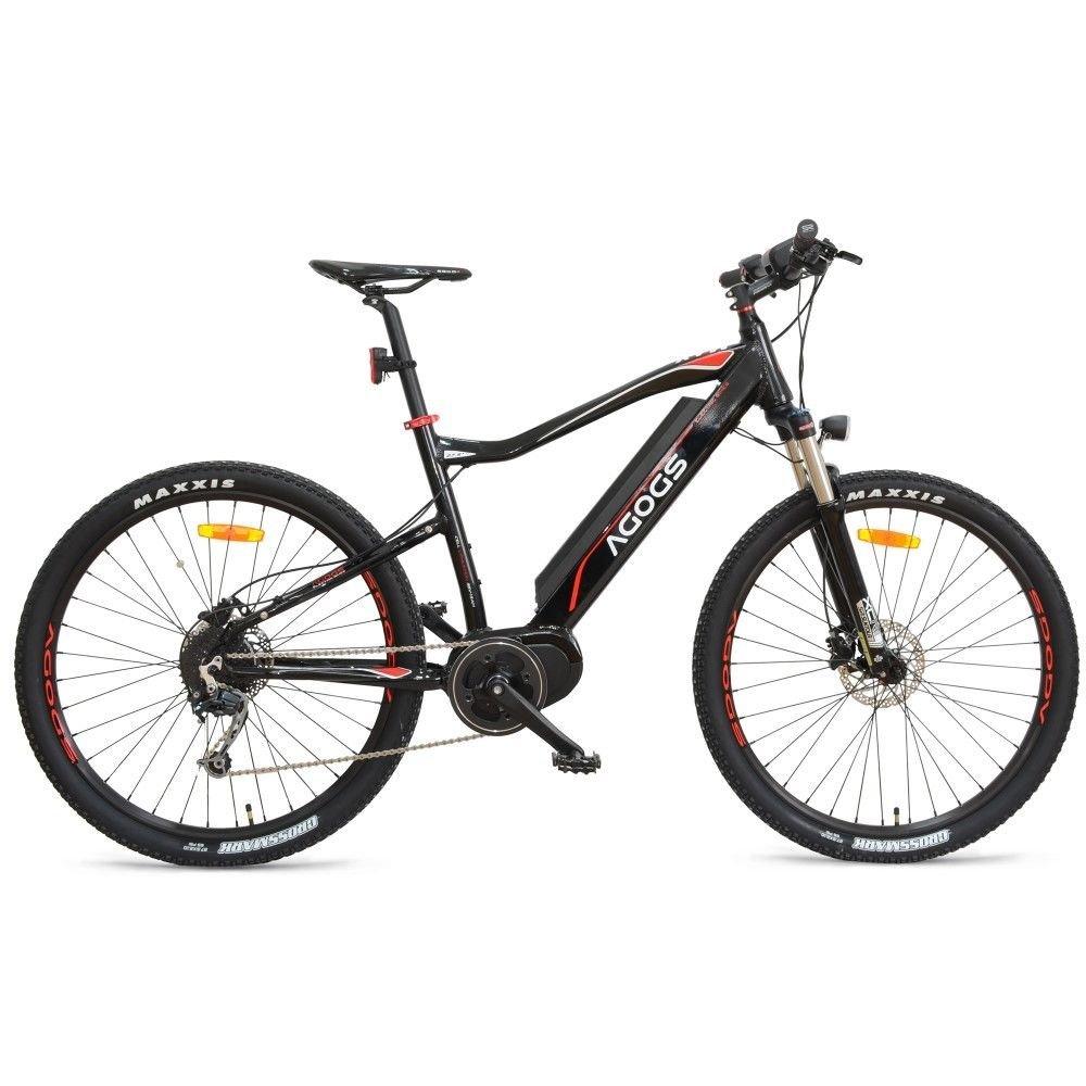 AGOGS MTB Max 27,5 Zoll Elektrofahrrad Mountainbike 48 cm Alurahmen ...