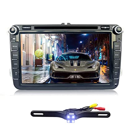 Amazon Com Ehotchpotch Car Stereo With Backup Camera Double 2 Din
