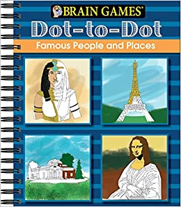 Amazon.com: Brain Games: Dot to Dot - Famous People and
