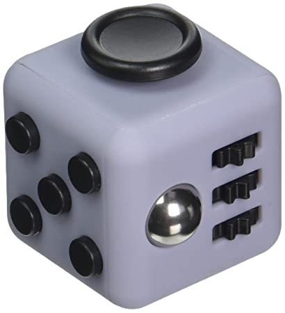 Generic Ledeng Fidget Cube Relieves Stress Anxiety Attention Toy Blue Black
