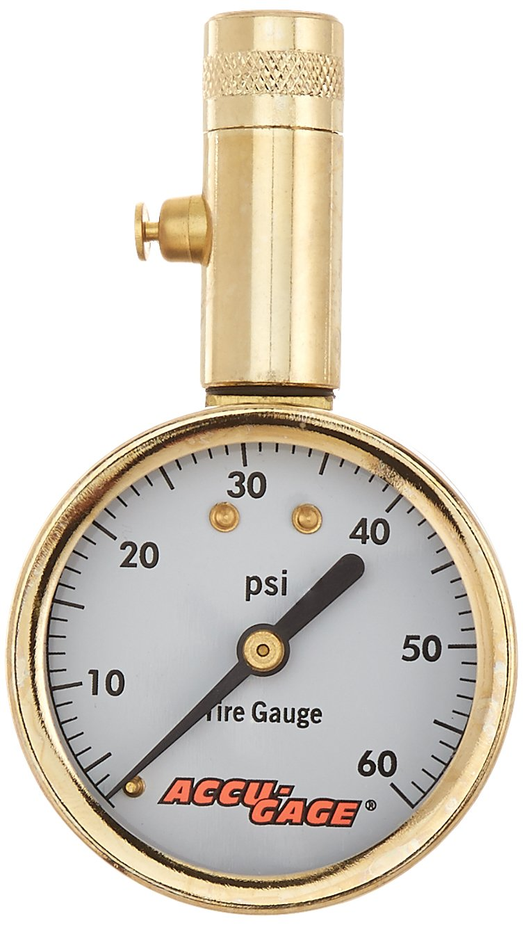 Accu-Gage 60 PSI Dial Tire Gauge G.H. Meiser & Co. S60X