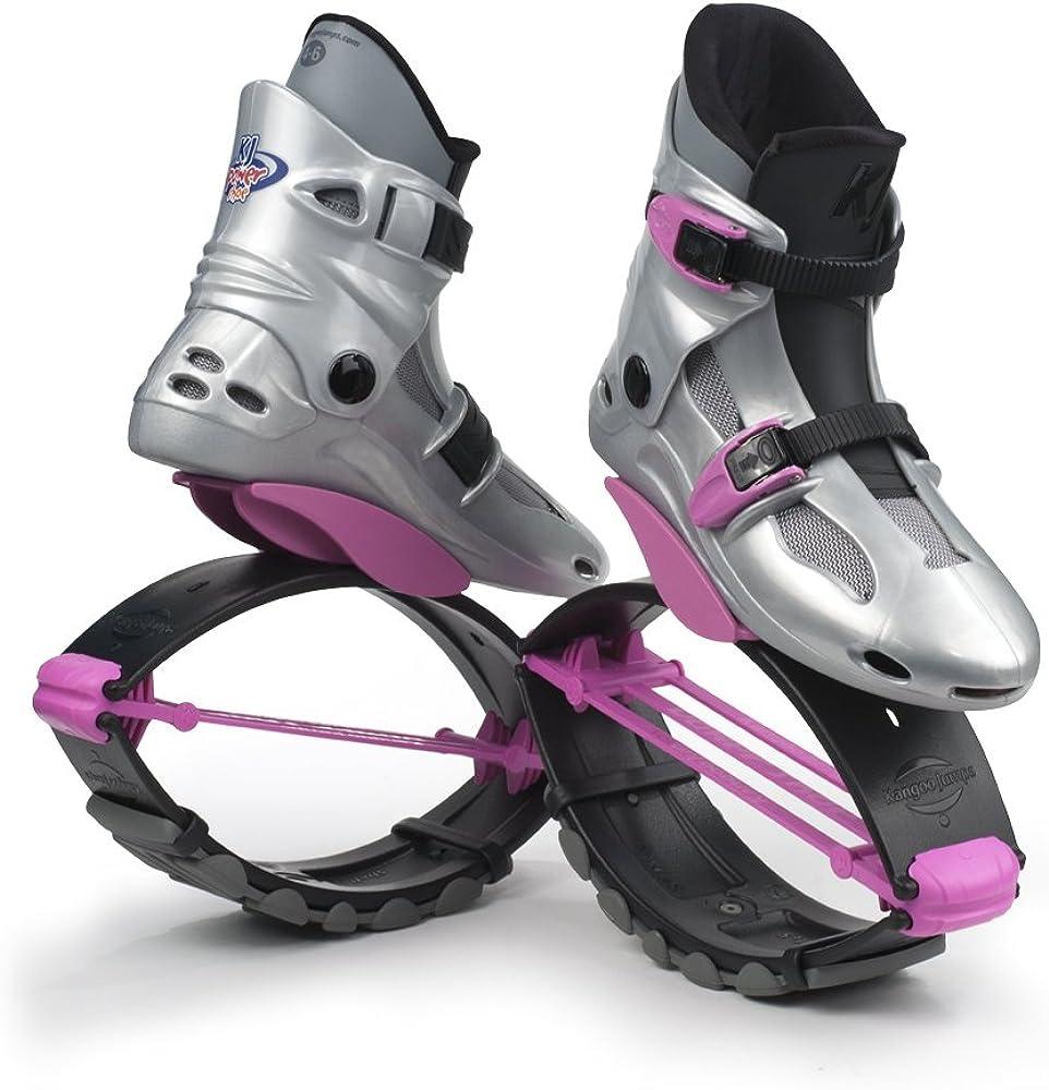 Silber//Pink Kangoo Jumps Kinderschuhe KJ PowerShoe SE