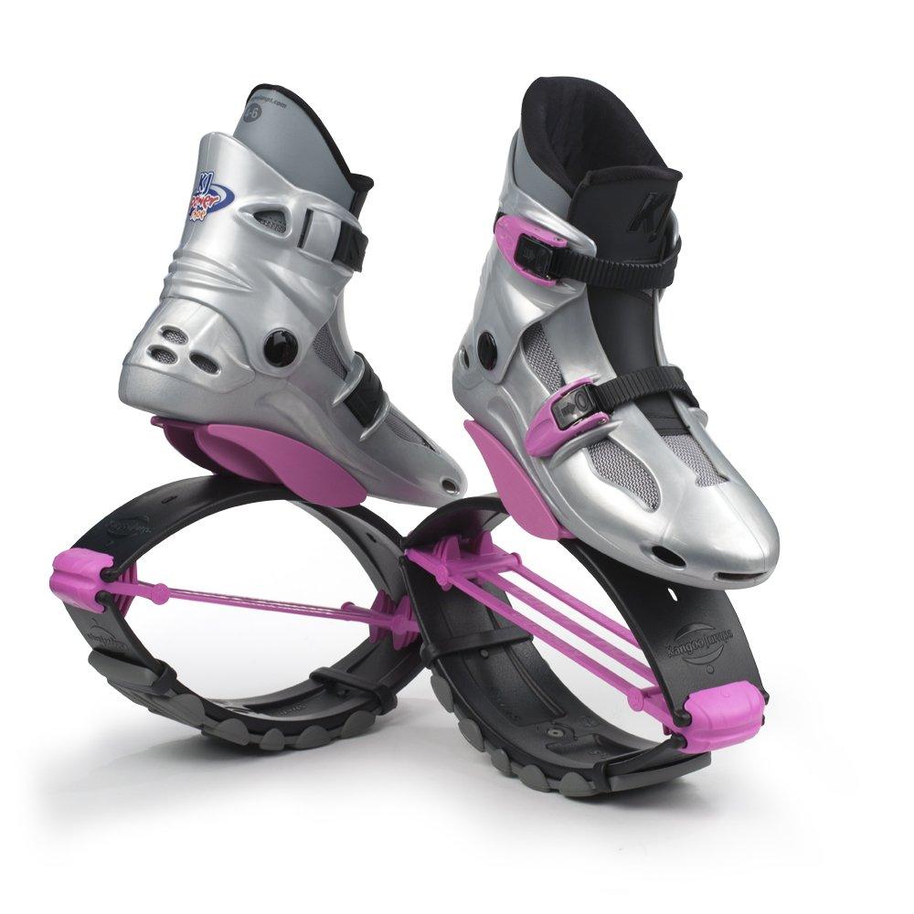 SE Silber//Pink Kangoo Jumps Kinderschuhe KJ PowerShoe