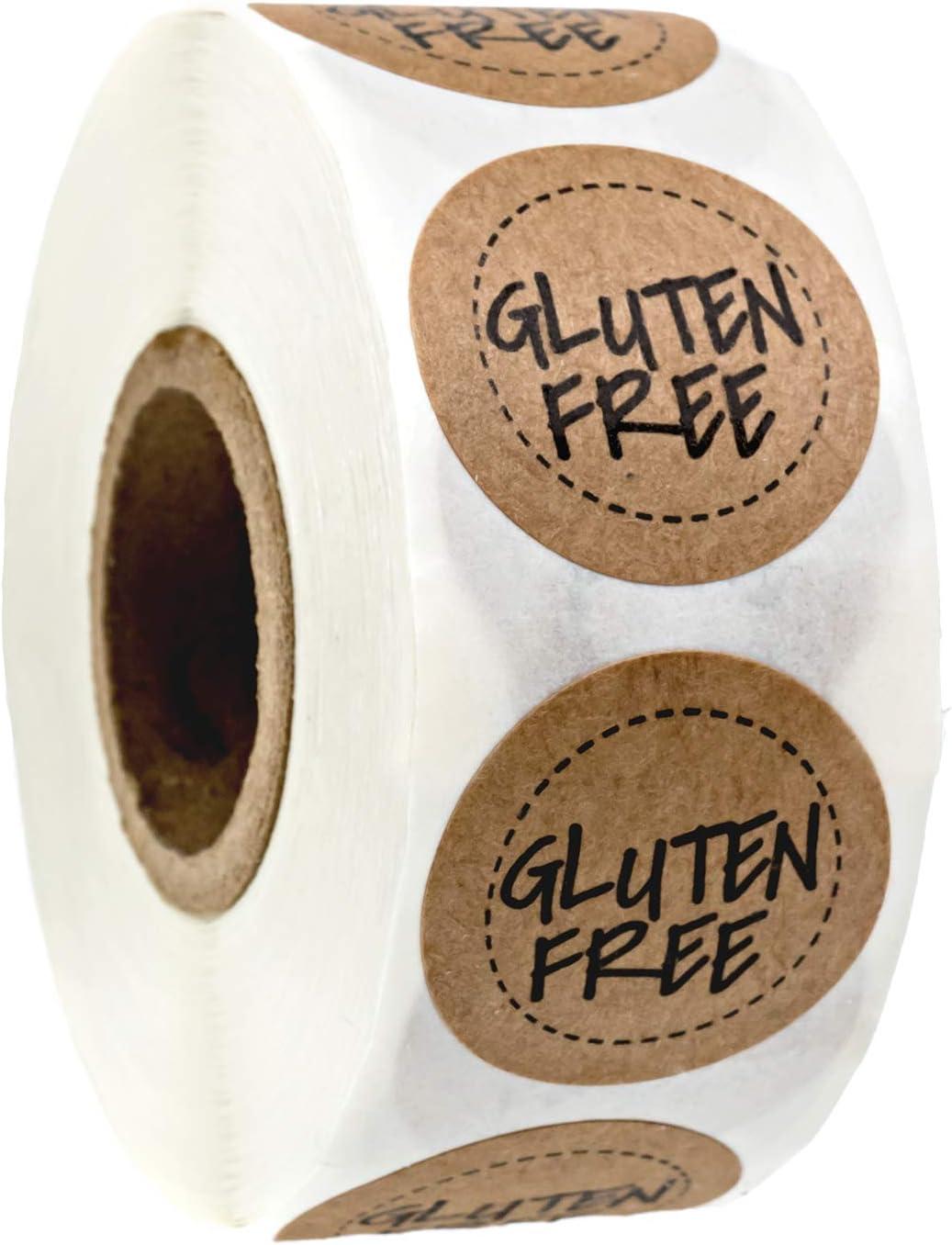 Gluten Free Kraft Stickers / 1
