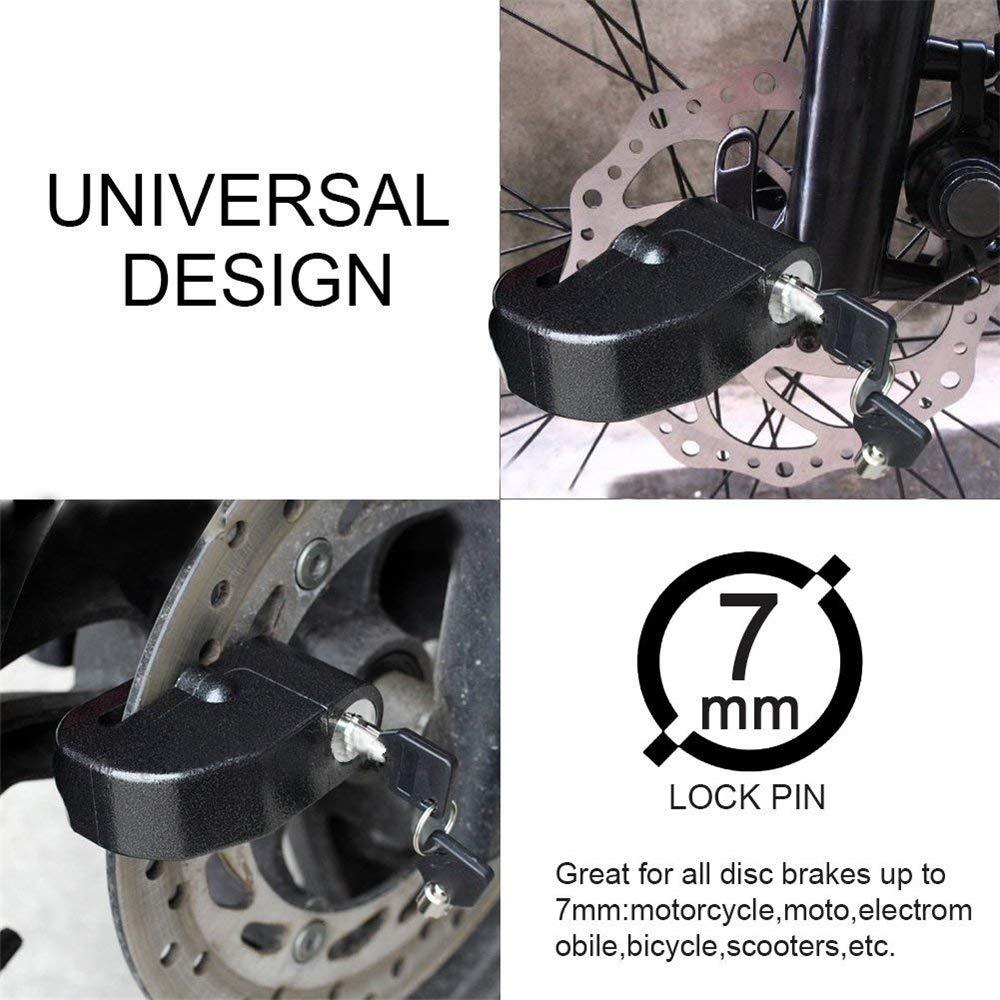 Amazon Com Tianqing Bicycle Lock Motorcycle Disc Brake Lock