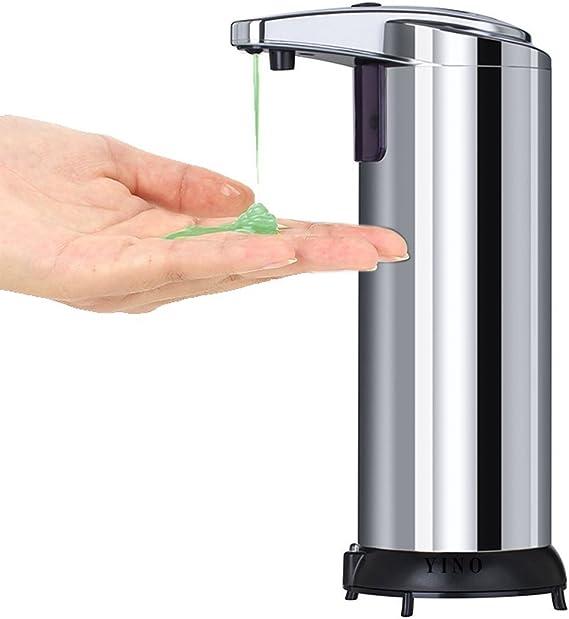 Dispensador de jabón automático de pie sin contacto, de Yino ...