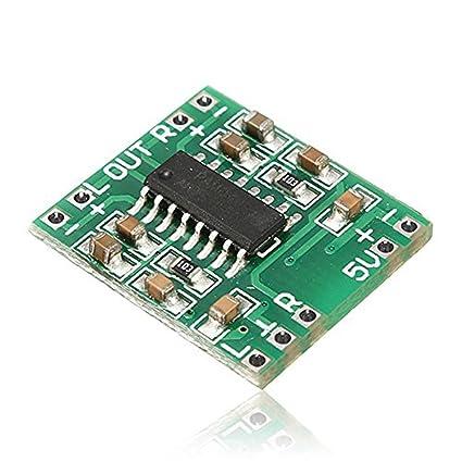 Dosige PAM8403 Audio Modul USB DC 5V Class D Digital Verst/ärker Amplifier Board LCD f/ür Arduino Raspberry Pi