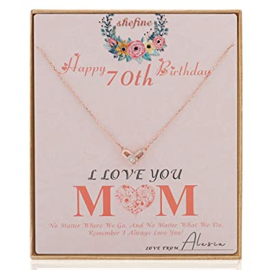 Amazon Shefine Mom 70th Birthday Gifts