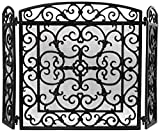 Esschert Design FF27B Cast Iron Fireplace Screen