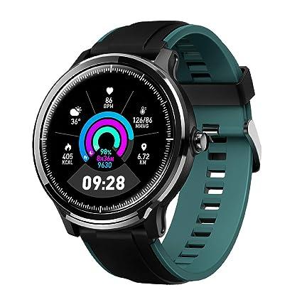 Bluetooth Smartwatch Hombre Reloj Inteligente Impermeable IP68 Pulsera Actividad Monitor de Sueño Calorías Podómetro Pulsómetro Notificación de ...
