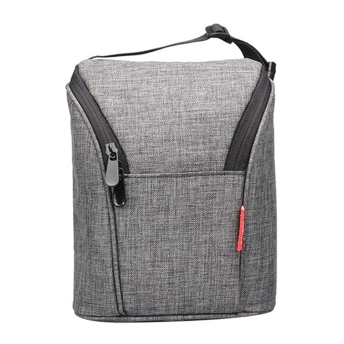 Amazon.com: Portable Insulated Lunch Bags Mini Roomy Milk ...