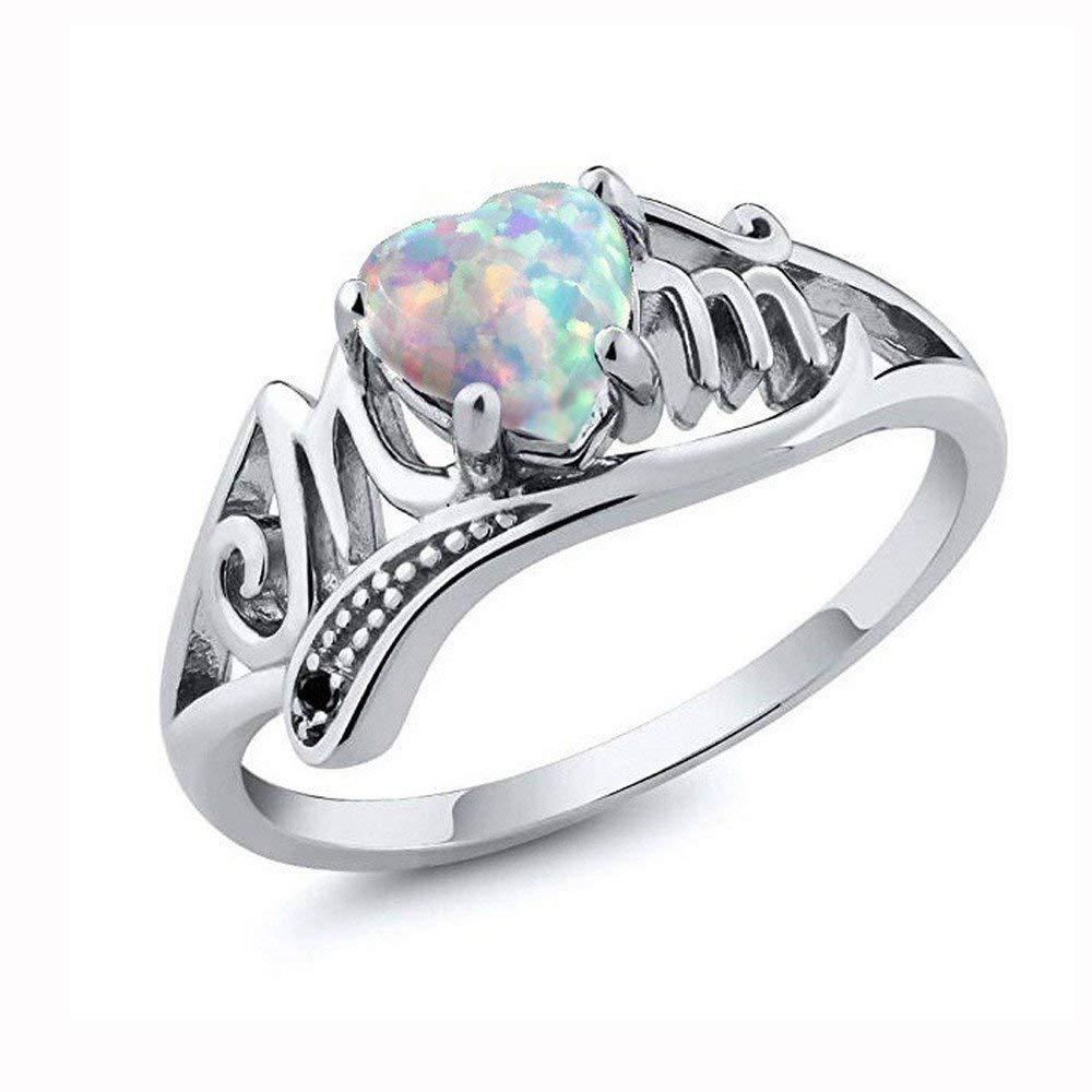 Buy Sttech1 Women Jewelry Men S Diamond Ring Love Mum Jewelry Gift