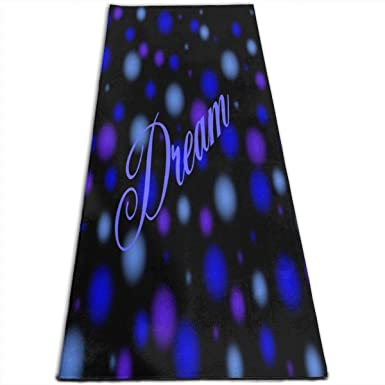 special price for 2019 authentic search for clearance Amazon.com: Yoga Mat Dream Bubbles Inspiring 1/4-Inch Thick ...
