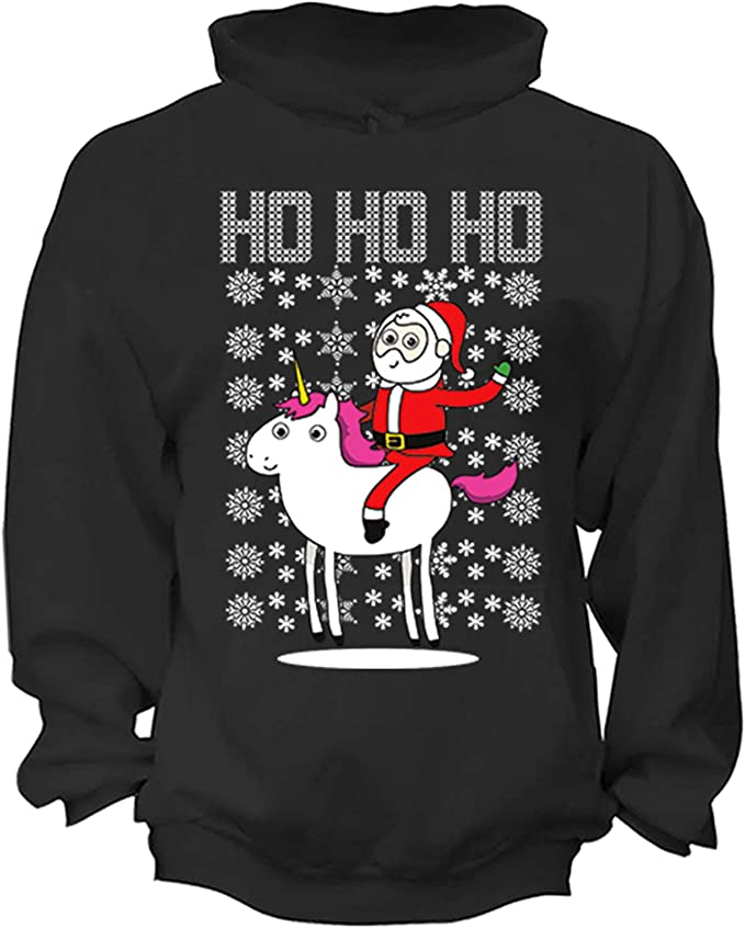 Crack Deez Nuts Nutcracker Hoodie Christmas Ugly Sweater Xmas Sweatshirt