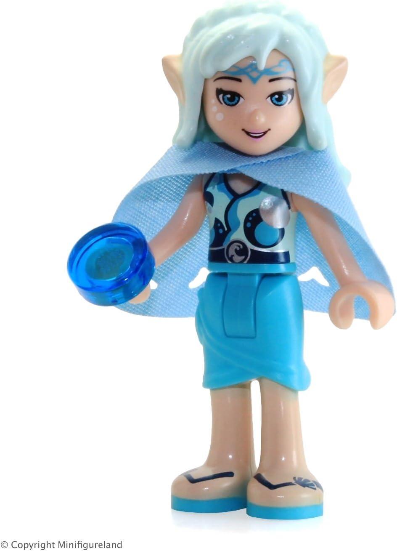 LEGO Elves Minifigure - Naida Riverheart (w Cape) from Set 41078