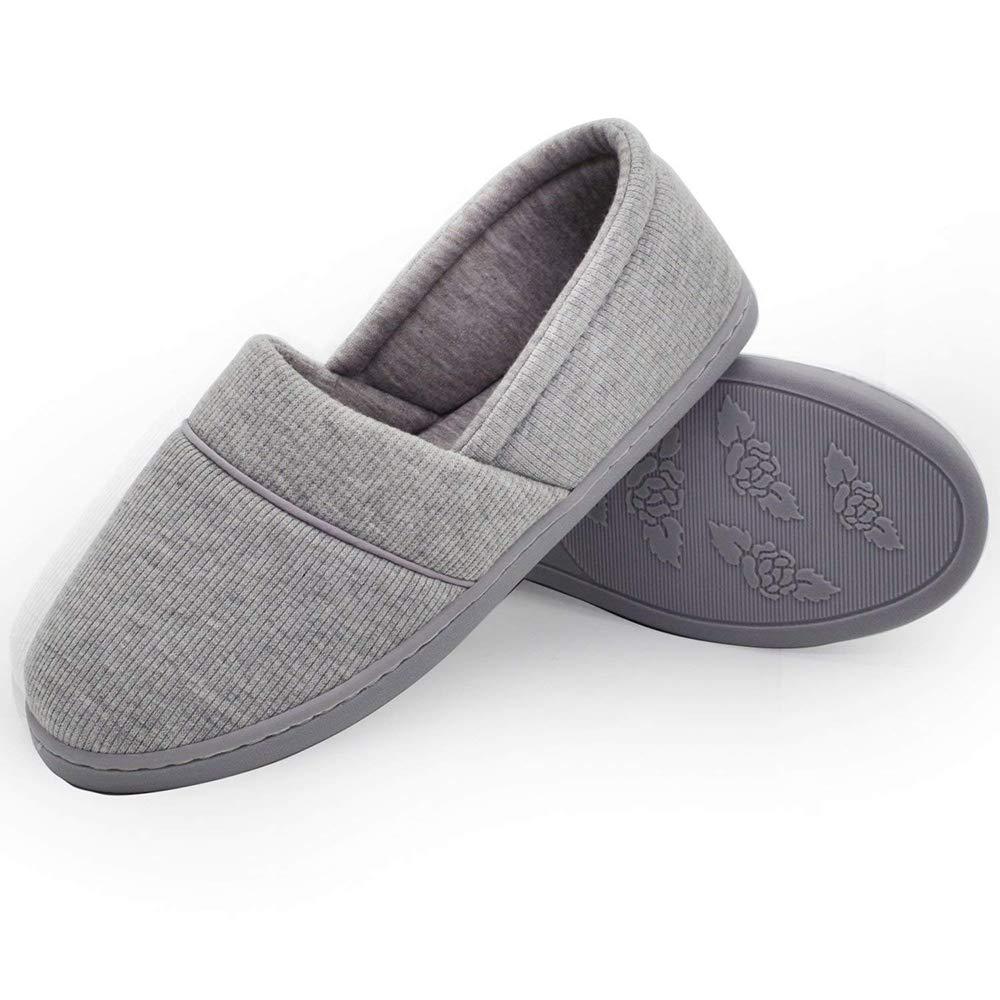 ... Hellowarm Pantofole Coperte morbide per Interni Scarpe Pantofole per  Donne Autunno Scarpe Interni comode per Donna ... 5da34a8cd3f