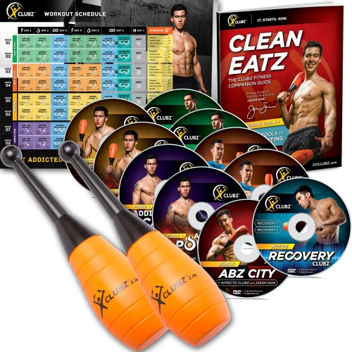 Cheap price The Clubz Fitness Indian Club Training Program - 2lb Beginner